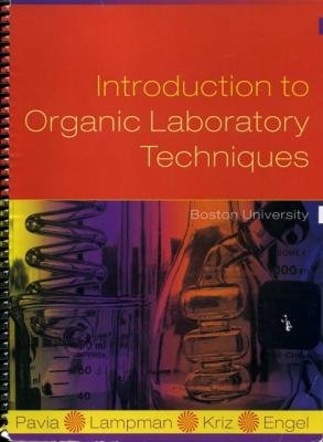 INTRO.TO ORGANIC LAB.TECH.>CUS N/A edition cover