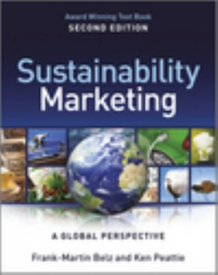 Sustainability Marketing A Global Perspective 2nd 2012 edition cover