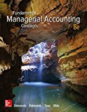 Fundamental Managerial Accounting Concepts:   2016 9781259569197 Front Cover