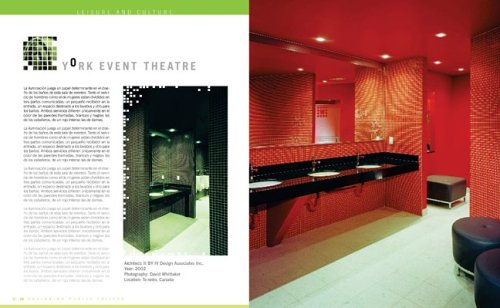 Public Toilet Design From Hotels, Bars, Restaurants, Civic Buildings and Businesses Worldwide  2005 9781554071197 Front Cover