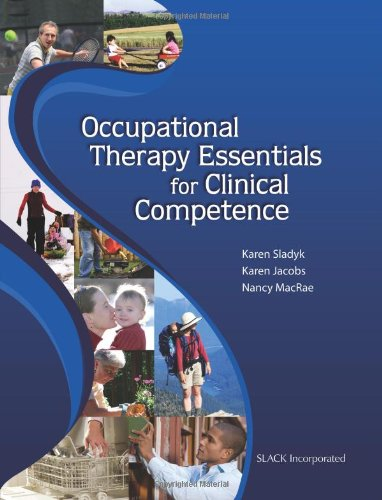 Occupational Therapy Essentials for Clinical Competence   2010 edition cover