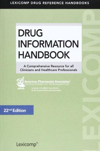 Drug Information Handbook: U.s. / Standard Edition  2013 edition cover