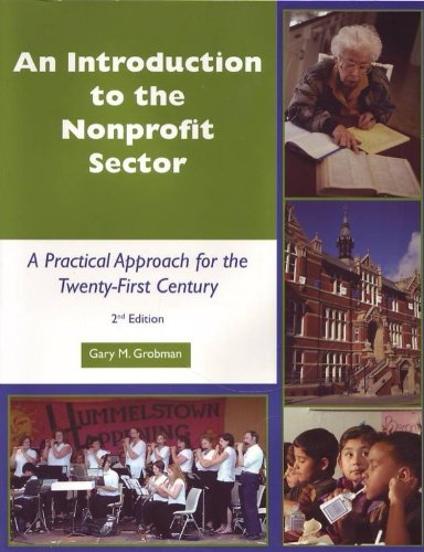 Introduction to the Nonprofit Sector : A Practical Approach for the 21st Century 2nd 2007 edition cover