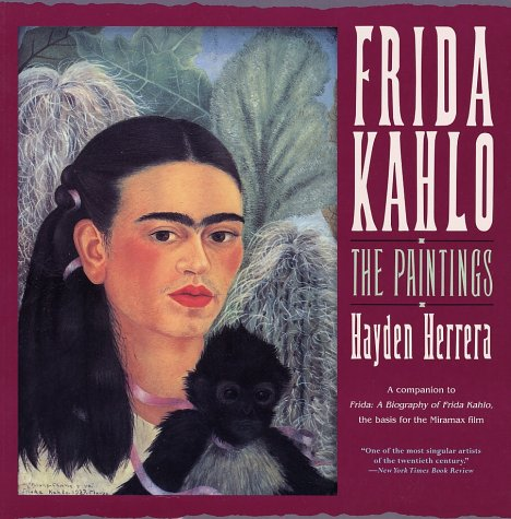 Frida Kahlo The Paintings Reprint edition cover