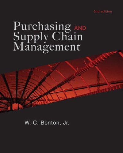 Purchasing and Supply Chain Management  2nd 2010 edition cover