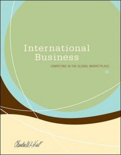 International Business  8th 2011 edition cover