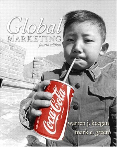 Global Marketing  4th 2005 (Revised) 9780131469198 Front Cover