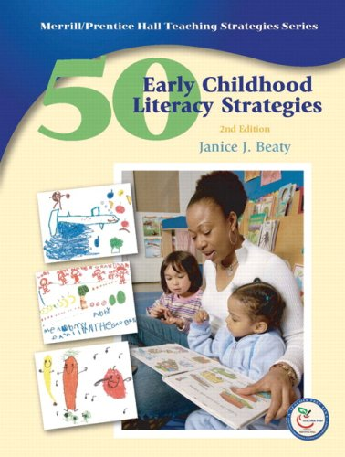 50 Early Childhood Literacy Strategies  2nd 2009 edition cover