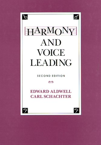 Harmony and Voice Leading  2nd 1988 edition cover