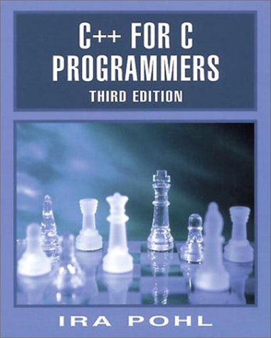 C++ for C Programmers  3rd 1999 (Revised) edition cover