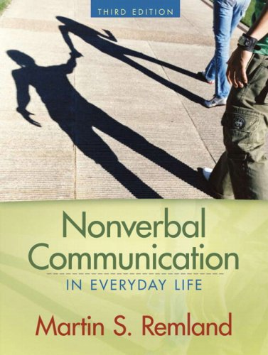 Nonverbal Communication in Everyday Life  3rd 2009 edition cover