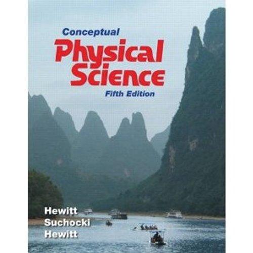 Conceptual Physical Science, Books a la Carte Edition  5th 2012 edition cover