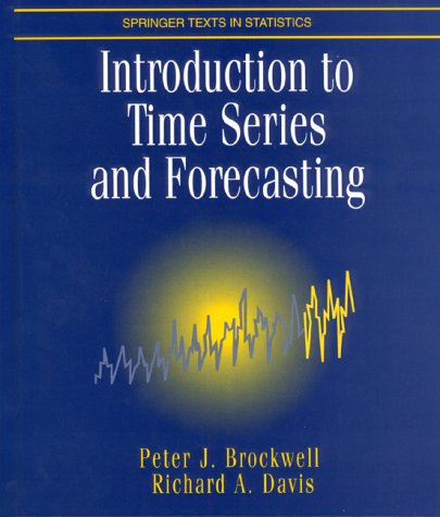 Introduction to Time Series and Forecasting  N/A 9780387947198 Front Cover
