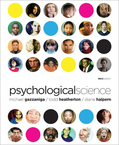 Psychological Science  3rd 2010 edition cover