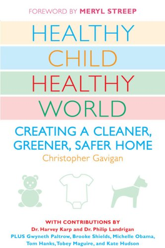 Healthy Child Healthy World Creating a Cleaner, Greener, Safer Home N/A edition cover