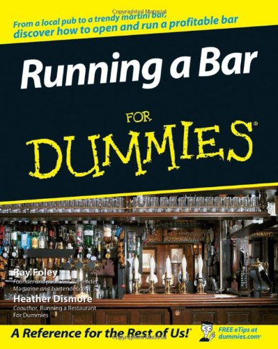 Running a Bar for Dummies   2007 edition cover