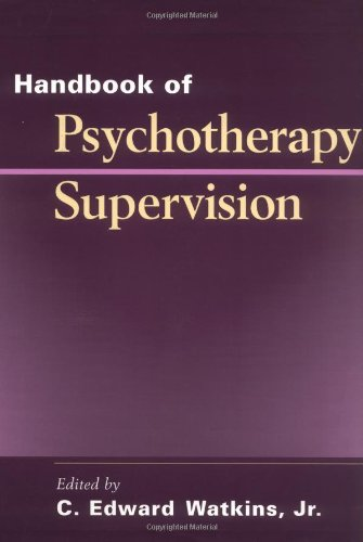 Handbook of Psychotherapy Supervision   1997 edition cover