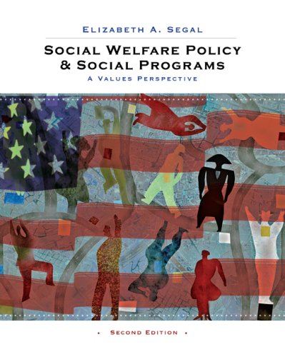 Social Welfare Policy and Social Programs A Values Perspective 2nd 2010 edition cover