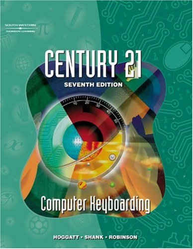Century 21 Computer Keyboarding  7th 2002 edition cover
