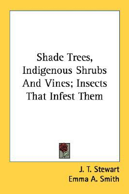 Shade Trees, Indigenous Shrubs and Vines; Insects That Infest Them N/A 9780548487198 Front Cover