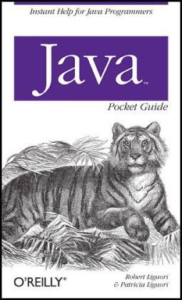 Java Pocket Guide   2008 edition cover