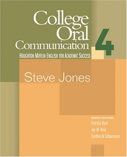 College Oral Communication 4   2006 edition cover