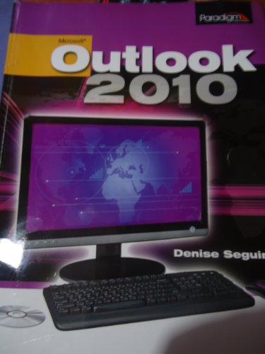 Microsoft Outlook 2010   2012 9780763840198 Front Cover