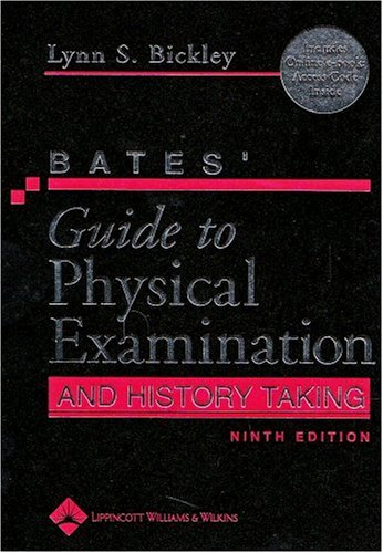Physical Examination and History Taking  9th 2007 (Revised) edition cover