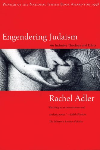 Engendering Judaism An Inclusive Theology and Ethics  1999 edition cover