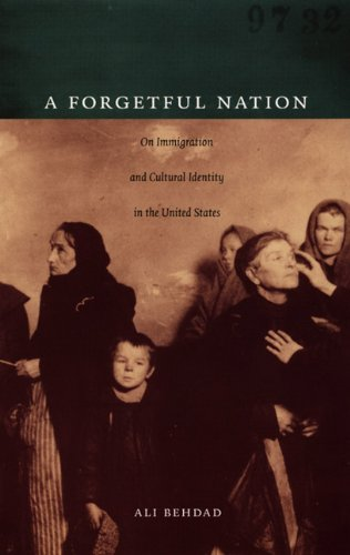 Forgetful Nation On Immigration and Cultural Identity in the United States  2005 edition cover