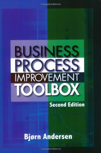 Business Process Improvement Toolbox  2nd 2007 9780873897198 Front Cover