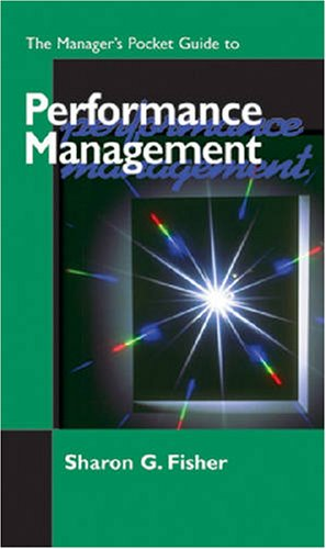 Manager's Pocket Guide to Performance Management  N/A 9780874254198 Front Cover
