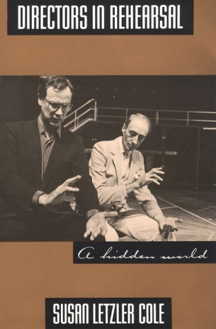Directors in Rehearsal A Hidden World  1992 edition cover