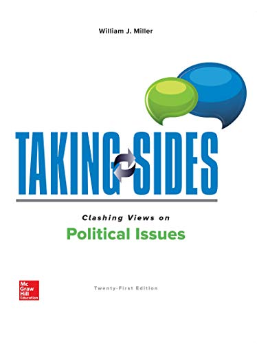 Taking Sides: Clashing Views on Political Issues  21st 2020 9781260494198 Front Cover