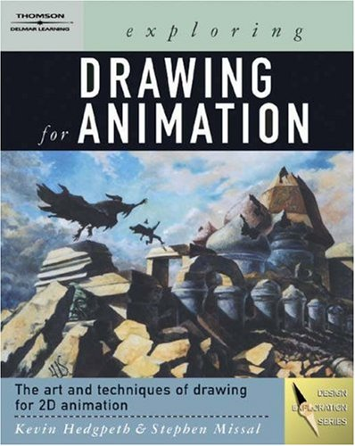 Exploring Drawing for Animation   2004 9781401824198 Front Cover