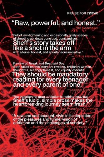 Tweak Growing up on Methamphetamines  2009 edition cover