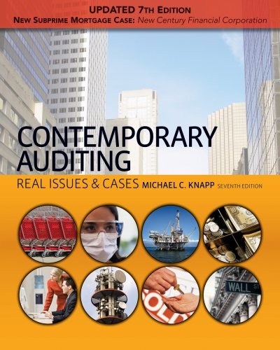 Contemporary Auditing Real Issues and Cases 7th 2010 edition cover