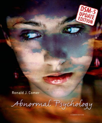 Abnormal Psychology  8th 2014 9781464137198 Front Cover