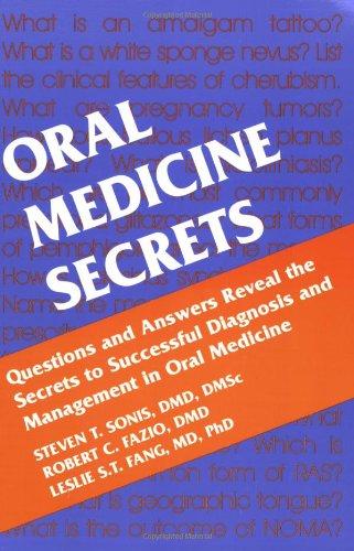 Oral Medicine Secrets   2003 9781560534198 Front Cover