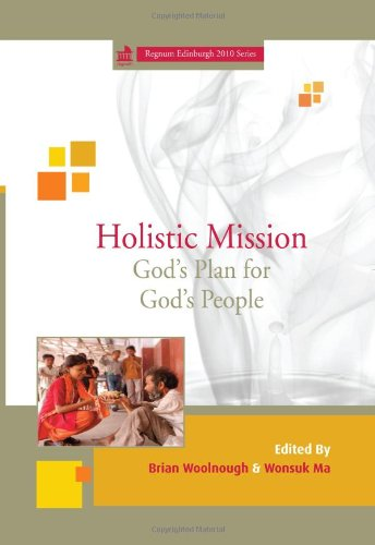 Holistic Mission God's Plan for God's People N/A edition cover