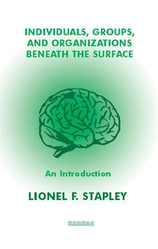 Individuals, Groups, and Organizations Beneath the Surface An Introduction  2006 edition cover