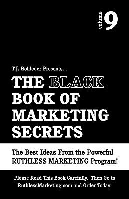 Black Book of Marketing Secrets  N/A 9781933356198 Front Cover