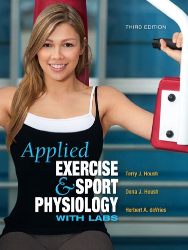 Applied Exercise and Sport Physiology with Labs 3rd 2012 edition cover