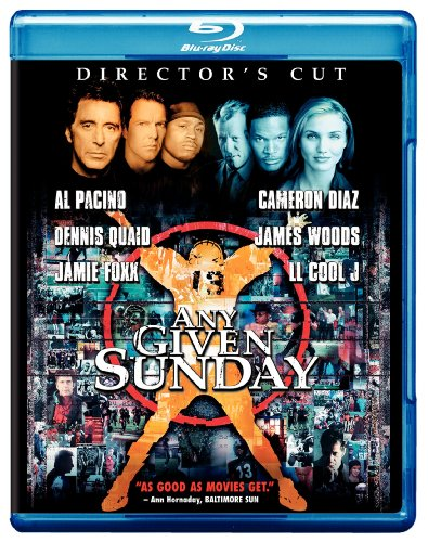 Any Given Sunday (Director's Cut) [Blu-ray] System.Collections.Generic.List`1[System.String] artwork