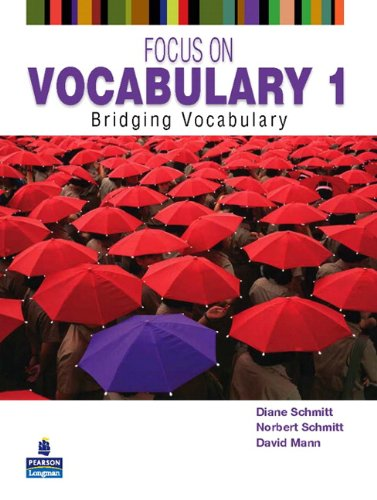Focus on Vocabulary 1 Bridging Vocabulary 2nd 2011 edition cover