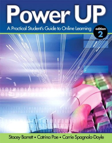Power Up A Practical Student's Guide to Online Learning 2nd 2012 (Revised) edition cover