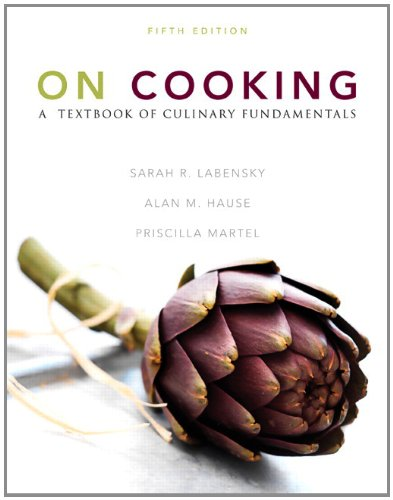 On Cooking A Textbook of Culinary Fundamentals 5th 2011 9780133103199 Front Cover