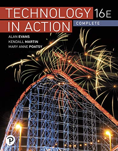 Technology in Action Complete:   2019 9780135435199 Front Cover