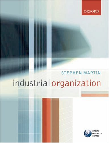 Industrial Organization in Context   2007 9780199291199 Front Cover