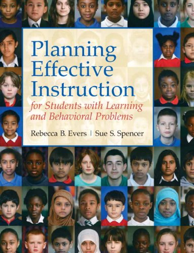 Planning Effective Instruction for Students with Learning and Behavior Problems   2011 edition cover